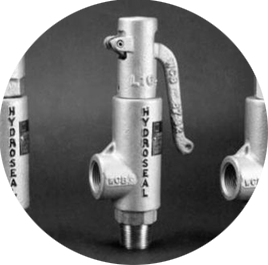 Series 1-4 Ball & Seat Threaded Safety Relief Valves
