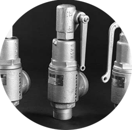 Series 5-8 Ball Seat Safety Relief Valves